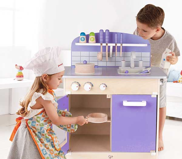 Hape Wood Kids Play Kitchen Best price