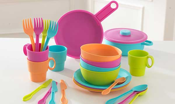 KidKraft 27pc Cookware Set - Brights