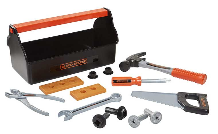 BLACK and DECKER First Tool Box 15 Piece Set