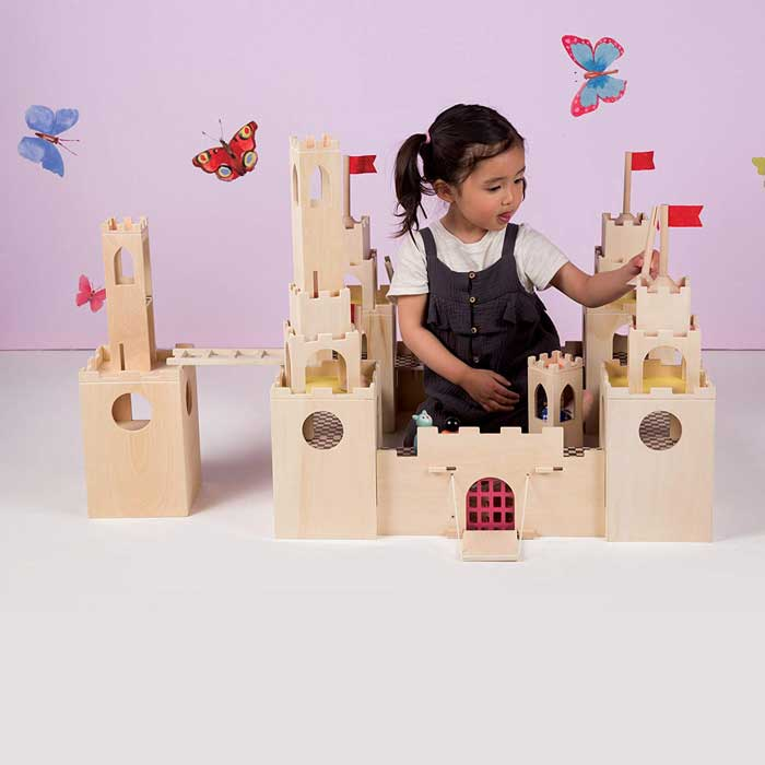 best castle toy Manhattan Toy MiO Wooden Castle