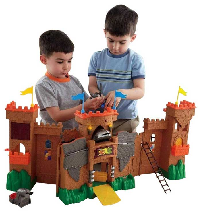 Fisher-Price Imaginext Eagle Talon Castle- best castle toy
