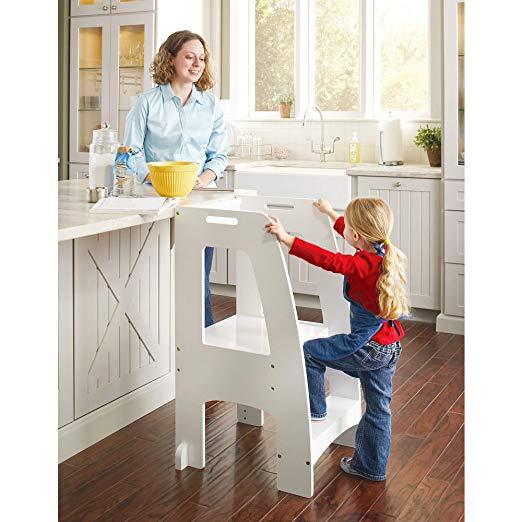 Fabulous Top 6 Best Toddler Kitchen Helper Step Stool For Kids 2019 Creativecarmelina Interior Chair Design Creativecarmelinacom