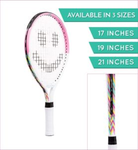 Street Tennis Club Tennis Rackets for Kids Proper Equipment Helps You Learn Faster and Play Better